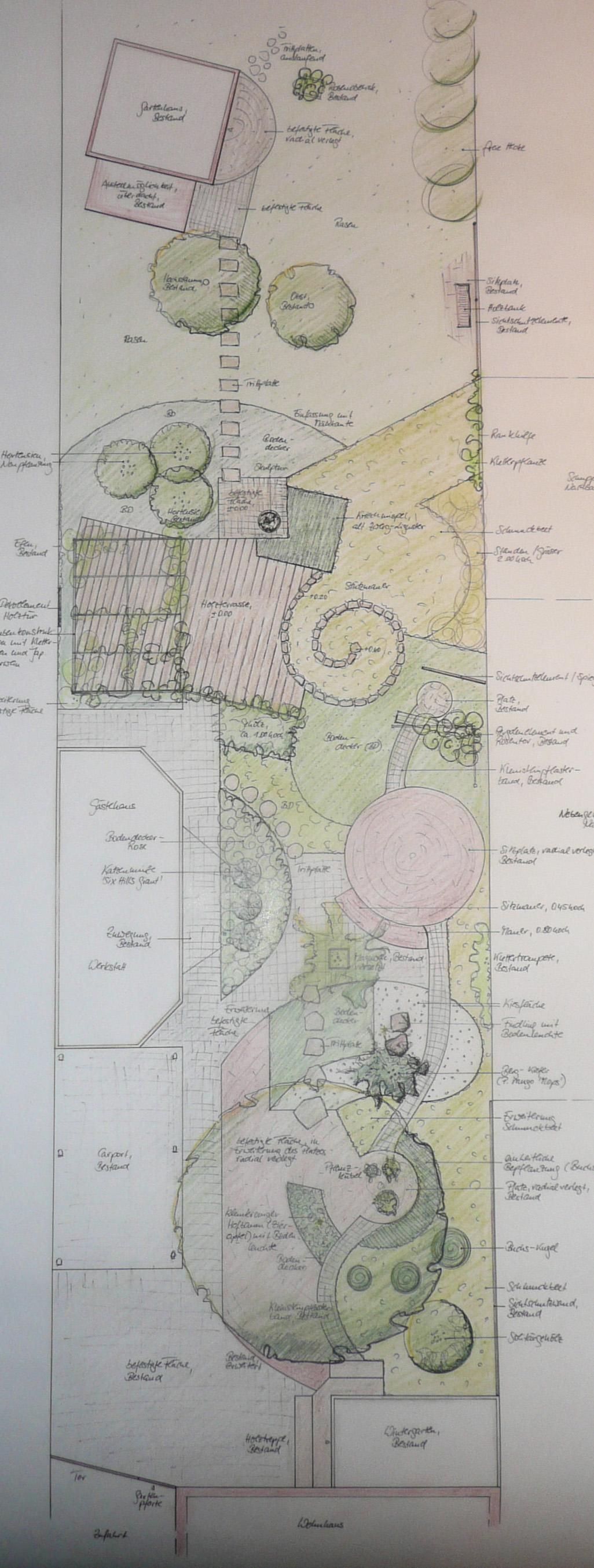 hinterhofgestaltung, individuelle gartengestaltung - von der planung bis zur ausführung, Design ideen